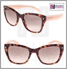 b44f45a0e7 PRADA Swing 09s Pink Violet Brown Havana Gradient Sunglasses Pr09ss  Authentic