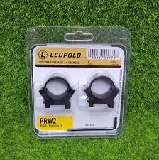 "Leupold PRW2 Precision Fit 1"", Low Scope Rings, Matte Black - 174079"