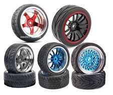 1/10 Onroad Rc Car Wheels Tires Set 4pcs For Tamiya tt01 tt01e tt02 m05 m06