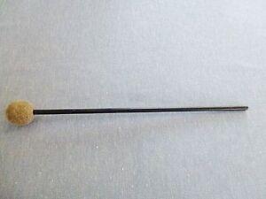 Schlägel mit meliertem Filzkopf 30 mm D. für Glockenspiel, Stabspiele.....31 cm