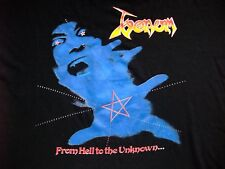 Venom From Hell to the Unknown RaRe vintage t-shirt