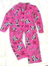 cdbfb46cff Regular Size S Disney 2 PC Minnie Mouse Pink Pajama Set Polyester Fleece