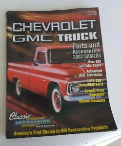 Chevrolet & GMC Truck Parts & Accessories Catalog Book 2002 Classic Industries