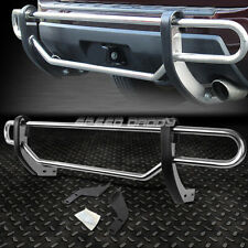 FOR 13-16 NISSAN PATHFINDER STAINLESS STEEL DUAL-BAR REAR BUMPER PROTECTOR GUARD