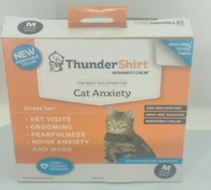 Thundershirt For Cat Anxiety - Gray, Medium Used With Original Box & Paperwork