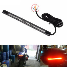 1Pc 48 LED Motorcycle Car Flexible Tail Brake Stop Lamp Turn Signal Strip Light