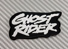 GHOST REDER MARVEL COMICS MOVIE FIRE IRON PATCH SEW EMBROIDERED LOGO HARDCORE