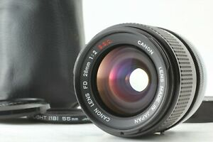 【 Optical TOP MINT 】 Canon FD 28mm F2 S.S.C. SSC Wide Angle MF Lens from JAPAN
