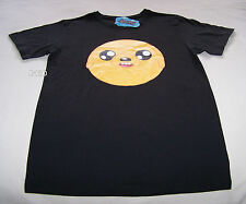 Adventure Time Mens Jake Face Black Printed T Shirt Size S New