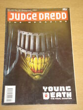 2000AD MEGAZINE #12 VOL 1 JUDGE DREDD*