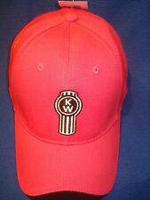 KENWORTH HAT:    LADIES HOT PINK CAP    *FREE SHIPPING*