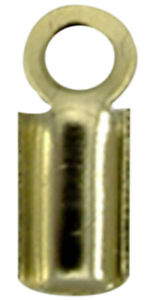 Embout de cordon 5 mm Bronze (lot de 10) - MegaCrea