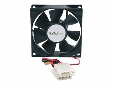 Fanbox StarTech 80x25mm Dual Ball Bearing Computer Case Fan With Lp4 Connector