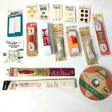 New ListingVintage Sewing Notions - Buttons, Elastic, Hook & Loop, Zippers New Old Stock