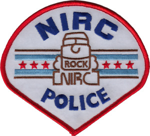NORTHEAST ILLINOIS REGIONAL COMMUTER RAIL CORPORATION POLICE DEPARTMENT PATCH