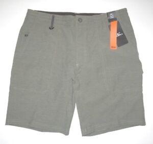 "O'Neill Mens Traveler Scout Hybrid 19"" Hiking Walk Shorts Boardshorts 32"