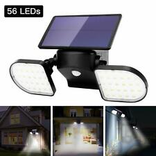 Motion Sensor Security Light, Outdoor Solar Powered LED Light for Home Security