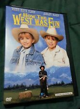 How the West Was Fun (DVD, 2004) Mary-Kate & Ashley Olsen Martin Mull OOP VGC