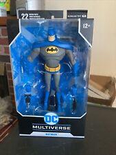 Mcfarlane DC Multiverse BLUE BATMAN Variant Figure Animated Series