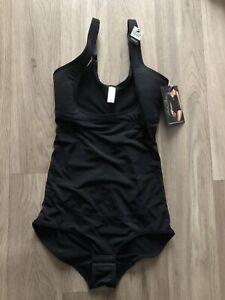 MARILYN MONROE Shaping WYOB BODYSUIT Size M BNWT RRP$42 Black