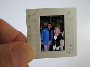 Original Press Photo Slide Negative - Dolly Parton & Burt Reynolds - 1992 - B
