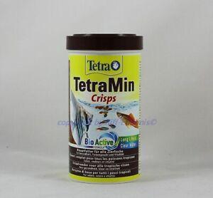 Tetra Min Crisps Food 500ml Main Food for All Aquarium Fish 22,98 €/ L