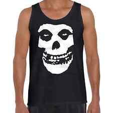 Men's Fashion Tank Singlet FIEND Skull Funny festival Metal Misfit Rock