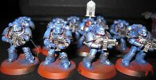 40K Space Marines Tactical Squad with Mk IV painted
