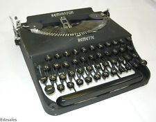 Vintage Remington Remette Compact Portable Manual Typewriter
