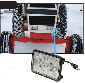 Case 90-96 Series Tractor LED Front Hood Light  Hi/Lo