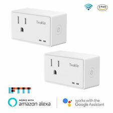 Smart Plug Mini Wifi Outlet Wireless Remote Control Socket Timer Switch 2 Pack