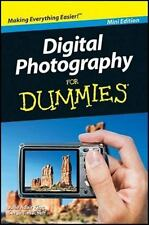Camera New Digital Photography for Dummies Tips, Basics Mini Edition -FREE SHIP