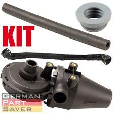 New Crankcase Oil Separator PCV Vent Valve Kit Breather Hose For BMW E36 E39 4pc