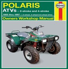Haynes 2302 1985-1997 Polaris 250-500cc ATV Maintenance Service Shop Manual