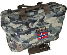 Borsa Zaino Tracolla Uomo Donna Multicolore Napapijri Bag Nordland Overnight Cam