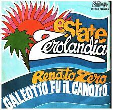 18388 RENATO ZERO  GALEOTTO SU IL CANOTTO