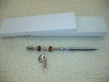 Horseshoe Beaded Letter Opener - One Of A Kind!