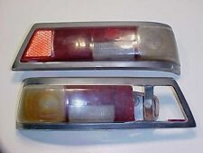 Mercedes 200 Benz Rear Tail Light_Brake_Reverse Lamp_Housings_Covers_Nuts Pair