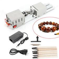 100w Small Lathe Beads Polisher Machine Cnc Table Woodwork Rotary Polishing Tool
