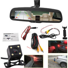 "Car Rear View Mirror 4.3"" LCD Auto Dimming Monitor Rear View Camera With Bracket"