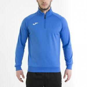 Combi Sweatshirt Faraon 5 Joma Felpa Allenamento Training Mezza zip Royal