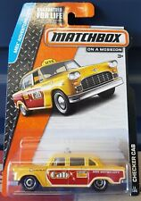 Matchbox 2015 - Checker Cab [YELLOW] VHTF  *12 CARS POSTED FOR $10*
