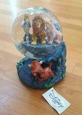 Disney Lion King Snowglobe Pride Rock EUC