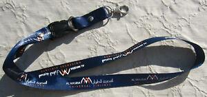 Al Masria Universal Airlines Schlüsselband Lanyard NEU (A6.1)
