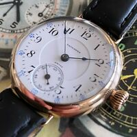 Absolutely Stunning Tavannes WW1 Trench Watch - Stunning Movement