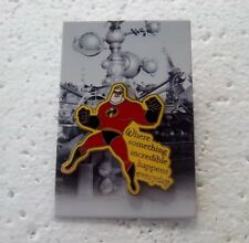 *~* DISNEY WDW WHERE DREAMS COME TRUE MR. INCREDIBLE PIN NEW ON CARD *~*