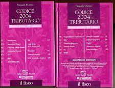 Marino # CODICE 2004 TRIBUTARIO # De Agostini 2 VOL. *M