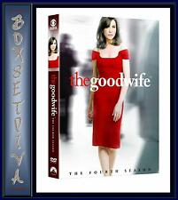THE GOOD WIFE - COMPLETE SEASON 4 *BRAND NEW DVD*