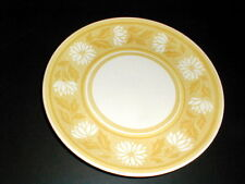 Royal China USA Ironstone Yellow Gold Floral  Dinner Plate/s