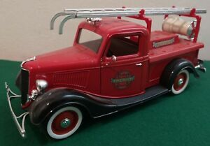 VEHICULE MINIATURE # FORD V8 PICK UP 1936 # FIRE DEPT. CITY OF SEATTLE
